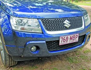 HID lights made night driving a breeze in the Grand Vitara.