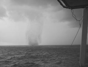 Water spouts are a natural marvel, but steer clear because they can end in disaster.