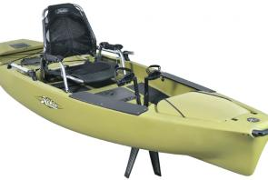 The Mirage Pro Angler 12 is Hobie's most versatile fishing kayak.