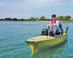 Its standout feature is the MirageDrive pedal propulsion system. Its quiet and efficient mode of propulsion maximises fishability.