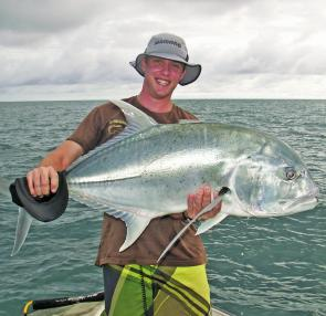 GT of this size are commonly found around the many Whitsunday Islands.