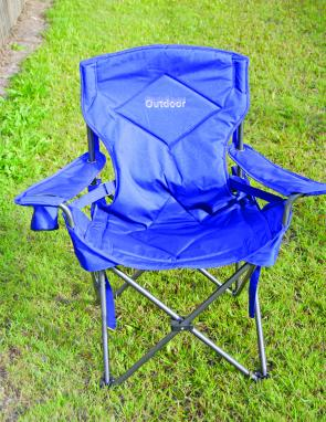 The lumbar support strap with adjustable buckles are great features of the Outdoor Lumbar Support chair.
