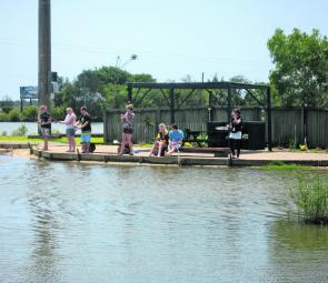 Hooked up and having fun. Anyone can have a blast at the Suncoast Barra Park.