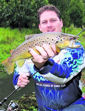 The rivers open to trout fishing again this month and the quality and quantity of fish is always good in September.