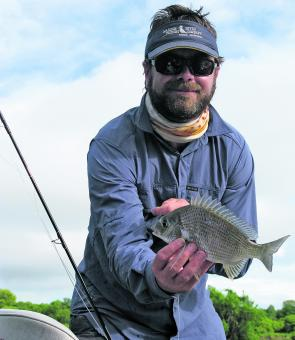 Pikey bream are a much tougher adversary than most realise and are well worth targeting for some sporting fun when the winds are blowing out offshore fishing.
