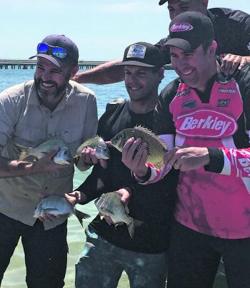 Some bream caught at the Go Fishing Day held at Kurnell recently.