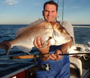 Snapper will come on the chew as the water cools and the current slows further.