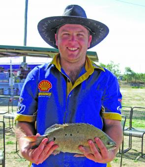 Adult Category winner for the Longest Grunter title was Daniel Johns with a 38.3cm specimen.