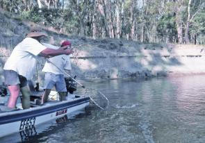 Battling feisty fish in the Murray around Echuca is a great way to spend a weekend, even better when you're a chance to share in some $40000 worth of prizes!