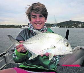 Trevally enjoy cooler water temperatures.