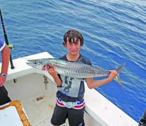 Jay Ferrington caught this resident Spanish out from Yeppoon.
