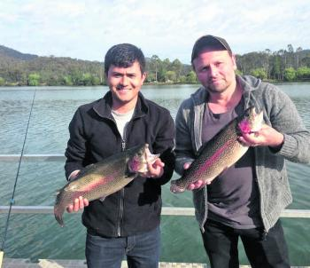 There's some very impressive catches each year at the Eildon Big Fish Challenge.