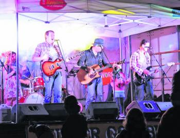 Live music is always a big attraction to the Big Fish Challenge, where they sample some of the finest local talent.