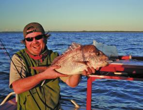 Snapper will start to respond to plastics more than bait this month.