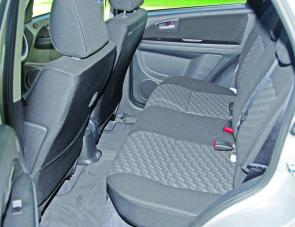 Thanks to wide rear doors passengers entering the SX4's rear seating area won't have the slightest difficulty.