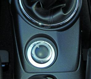 A console selector gives the ASX the flexibility of two wheel or all wheel drive.