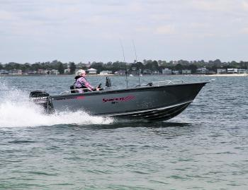The Anglapro 484 Pro Sniper looks very impressive in or out of the water.