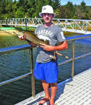 Devilbend Reservoir has been fishing well for quality brown trout.
