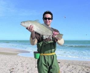 A few school mulloway can still be caught at this time of the year.