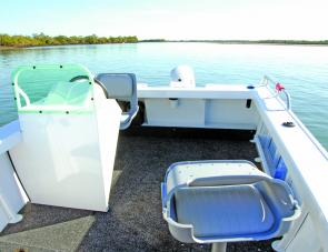 Side console craft offer plenty of room for anglers to enjoy their fishing and the Formosa certainly does not skimp in this department.