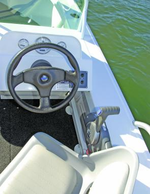 A user friendly dash/helm set up is a feature of the Formosa.