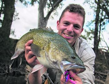 Casting for Murray cod is one of the best styles of sportfishing for these icons