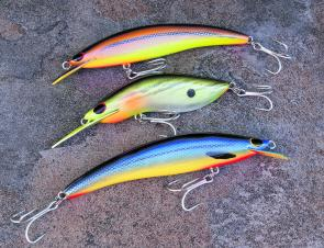 Check out the depth of colour and finish on these Kuttafurra lures.