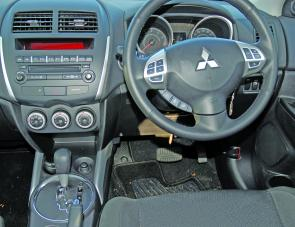 A well set out dash layout makes for easy times at the wheel of the ASX.