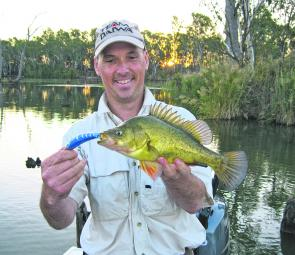 Even Fisheries Victoria had some custom painted Stumpies made in their corporate colours. And guess what? They worked just fine as Marc Ainsworth found out 'field testing' the colour.