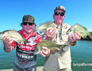 Team Bream On (John Startin and Beau Startin) secured the overall win courtesy of two consistent days on the water.
