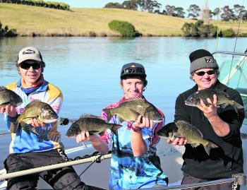 Anglers have been enjoying consistent days on the bream around Lake Tyers.