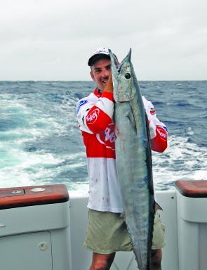 Big wahoo are a great sportfish and are fantastic tucker too.