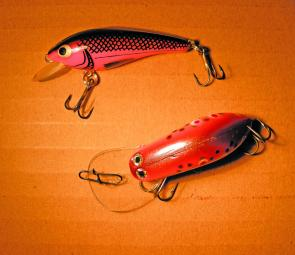 Medium floating minnows allow spin anglers to work a variety of waters. Leave the plastics until things quieten down.