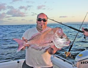 There will be a few decent snapper starting to show up on the close reefs this month.