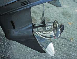The stainless prop on the big Yamaha converts all that grunt into sparkling performance.