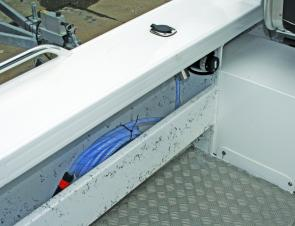 While it's an optional extra, the deckwash is a good investment which will make cleanups a breeze.